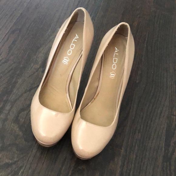 Aldo Shoes - Nude high heels